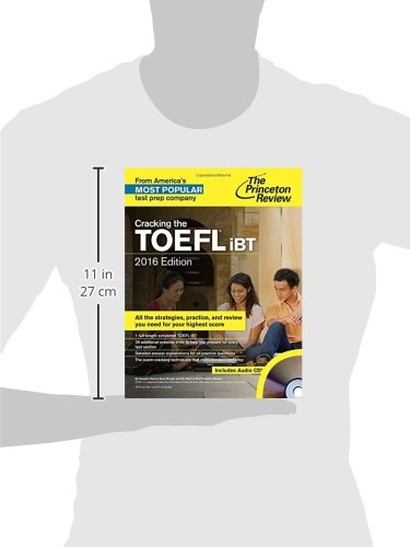 Cracking the TOEFL iBT with Audio CD, 2016 Edition (College Test Preparation) by